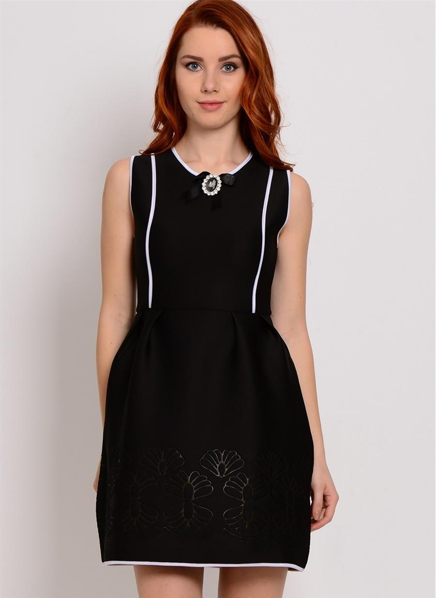 Kadın Zibi London Kolsuz Mini Elbise